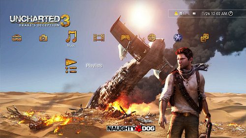 UNCHARTED 3 hits PlayStation Store, Exclusive PSN Avatar
