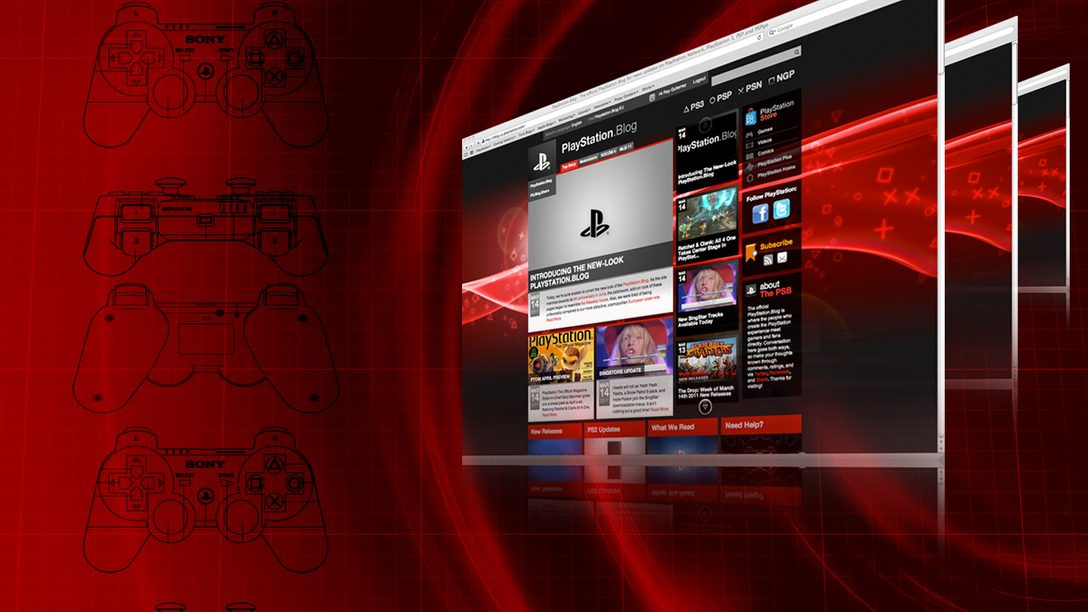 Introducing The New-Look PlayStation.Blog