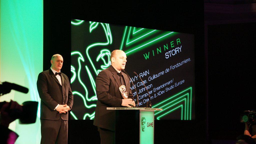 David Cage on Heavy Rain BAFTA Award Wins, Quantic Dream's Next Project