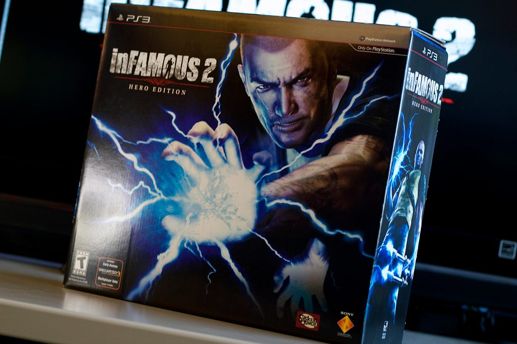 inFAMOUS 2 Hero Edition: The Unboxing – PlayStation Blog