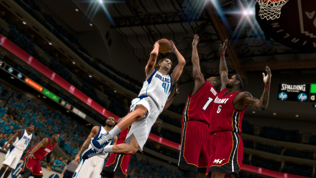 NBA 2K12: Jordan, Magic, Bird, and PlayStation Move
