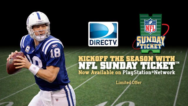 Kickoff the NFL Season on PS3 with the NFL SUNDAY TICKET App