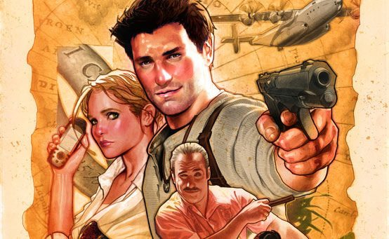 Coming Soon: UNCHARTED: The Fourth Labyrinth and UNCHARTED from DC Comics