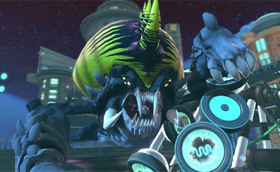 Ratchet & Clank: All 4 One – Front Seat for an Epic Boss Battle
