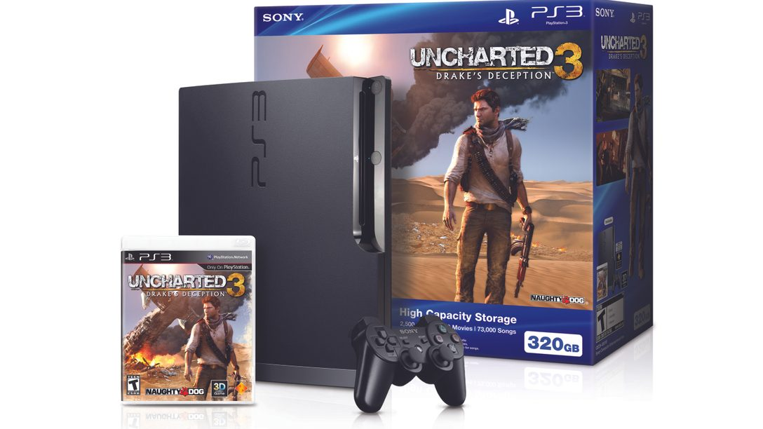NEW PlayStation 3 UNCHARTED 3: Drake's Deception Bundle Coming Soon