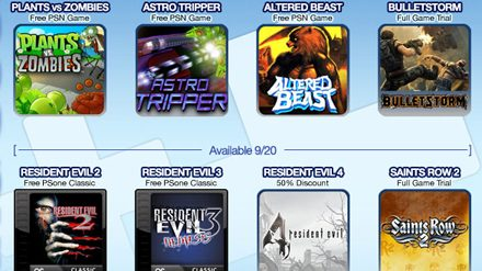 PlayStation Plus September Offers: 10 Free Games including Plants vs. Zombies