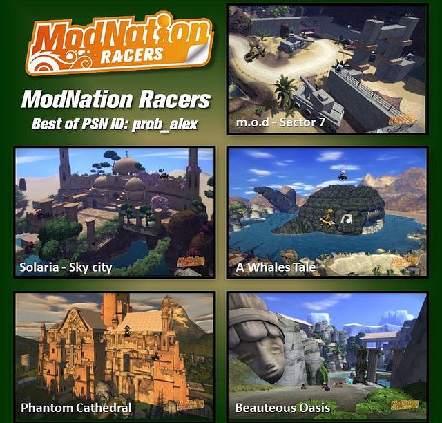 ModNation Racers: Road Trip Track Studio – Part Two