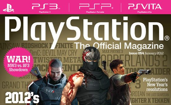 PlayStation: The Official Magazine Outs 2012's Hugest Games