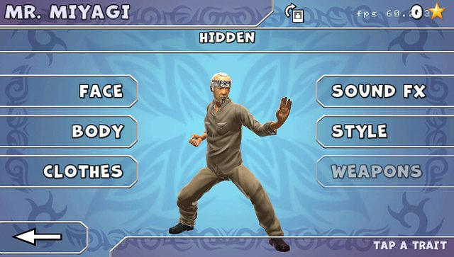 Reality Fighters for PS Vita: Introducing Your Sensei, Mr. Miyagi