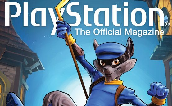 Sly Cooper Steals the Cover of PlayStation: The Official