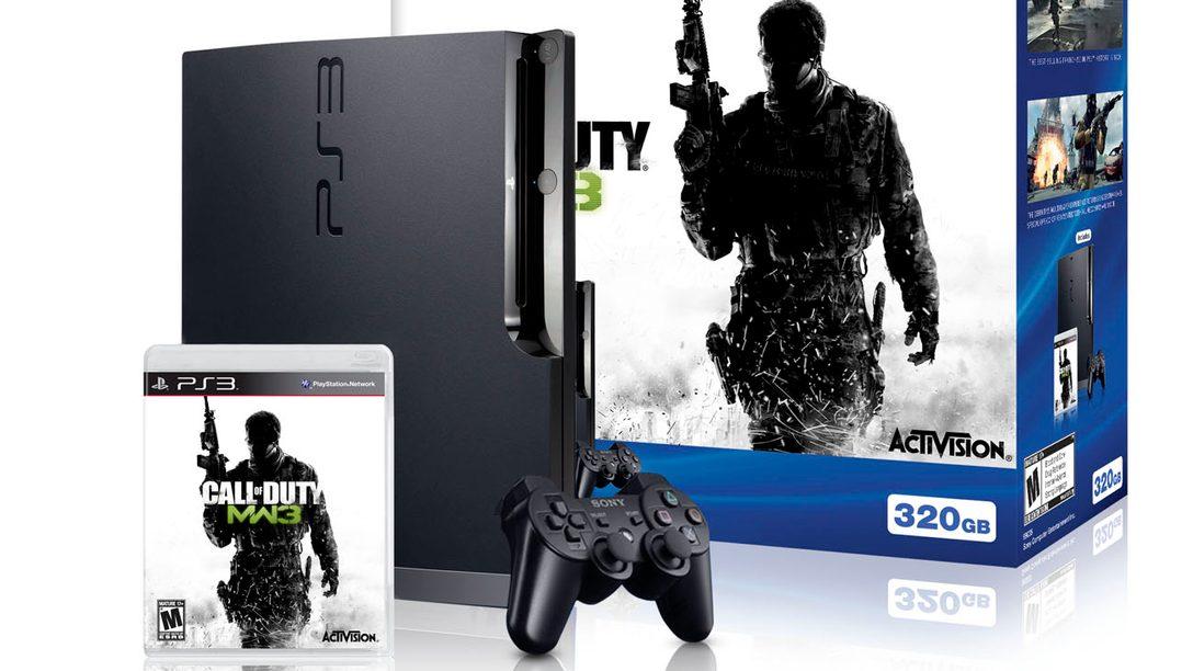 ba195f558f0 Limited Edition PS3 Call of Duty: Modern Warfare 3 Bundle Coming Soon