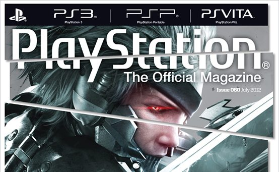 Raiden Cuts Loose on PlayStation: The Official Magazine's July issue