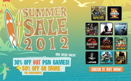 PSN Summer Sale Starts Tuesday, Bonus Discounts for Plus Members