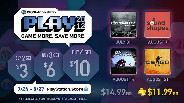 PSN PLAY Returns This Month with Four Great Games For the Summer