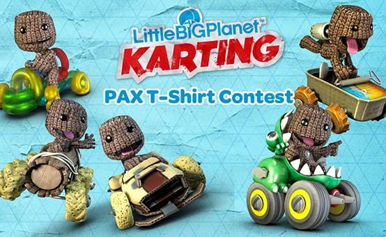 Contest: Design LittleBigPlanet Karting T-Shirt For PAX Prime