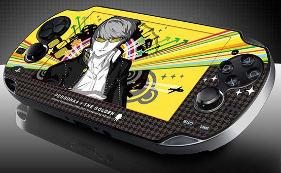 Cover Your PS Vita in Persona 4 Golden (But Only If You Pre