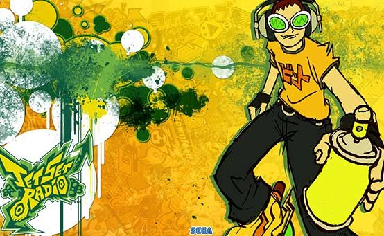 Jet Set Radio Tags PSN on 9/18 (Available Now For PS Plus Members), PS Vita 10/16
