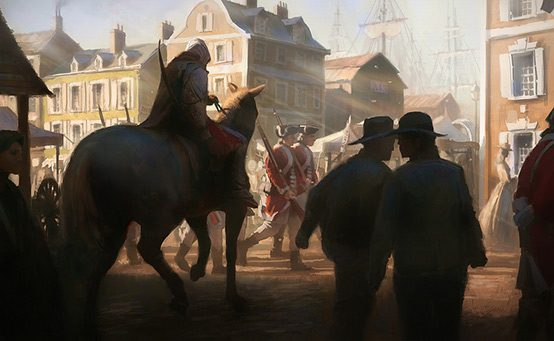 Location Scout: Boston, New York, and the Frontier in Assassin's Creed III