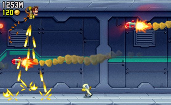 Jetpack Joyride Flies to PSP, PS Vita, PS3 Today