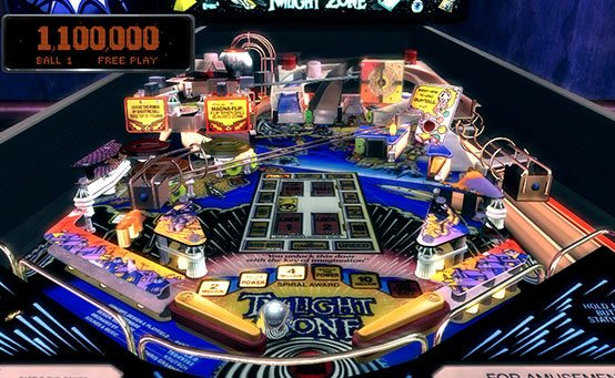 Pinball Arcade – Twilight Zone Table Out Today – PlayStation