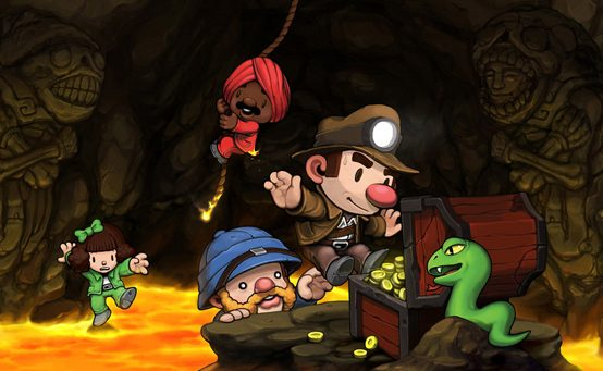 Indie Hit Spelunky Comes to PSN This Summer