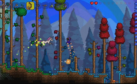 Indie Adventure Terraria Coming to PS Vita