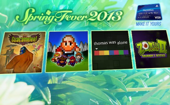 Spring Fever Hits PSN: Four New Titles, Day-One PS Plus Discounts