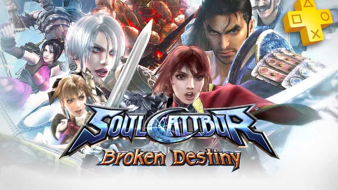 PlayStation Plus: Soul Calibur: Broken Destiny Free for Members