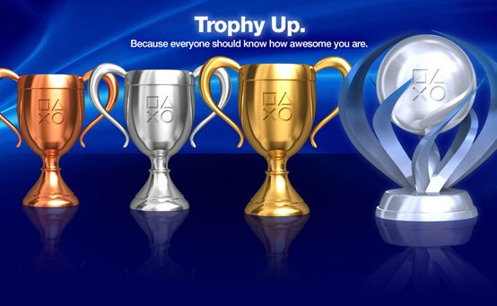 PlayStation.com's Trophy Page Levels Up