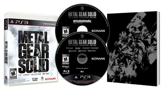 Metal Gear Solid: The Legacy Collection Hits PS3 July 9th