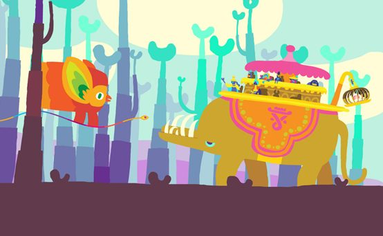 Hohokum Coming to PS4, PS3, PS Vita in 2014