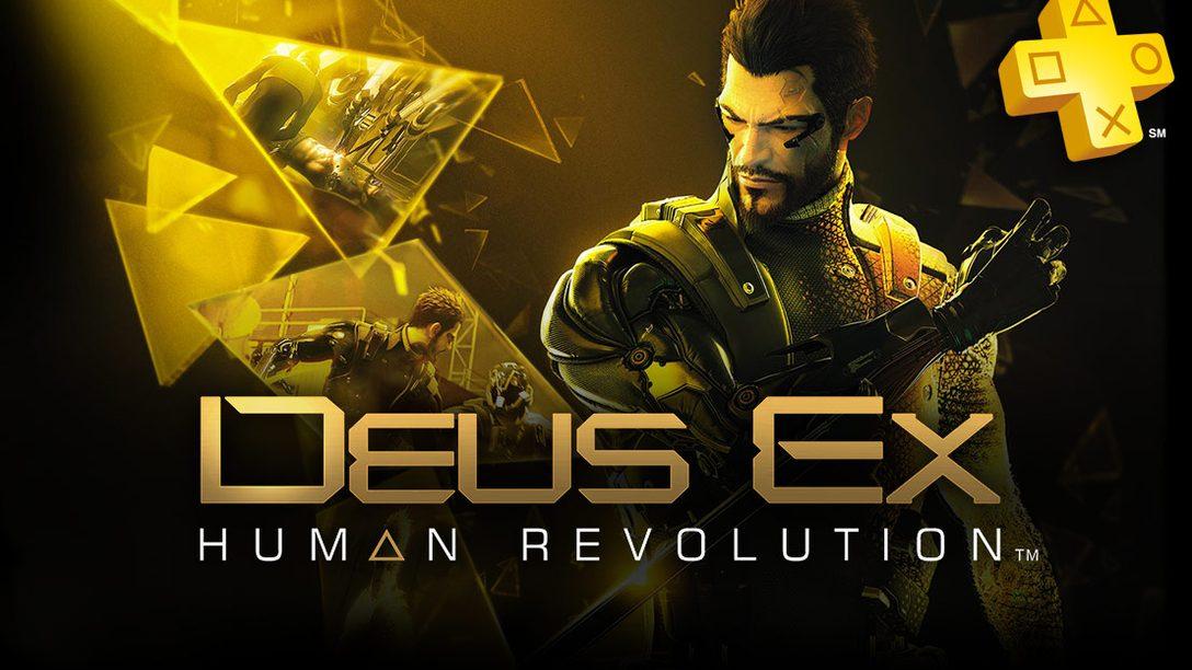 PlayStation Plus: Deus Ex: Human Revolution Free for Members