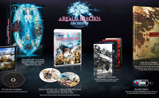 Final Fantasy XIV: A Realm Reborn on PS3 8/27, Collector's Edition