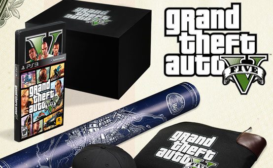 grand theft auto v collectors edition ps3