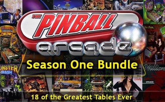 The Pinball Arcade Season One Bundle: 18 Tables, $29 99