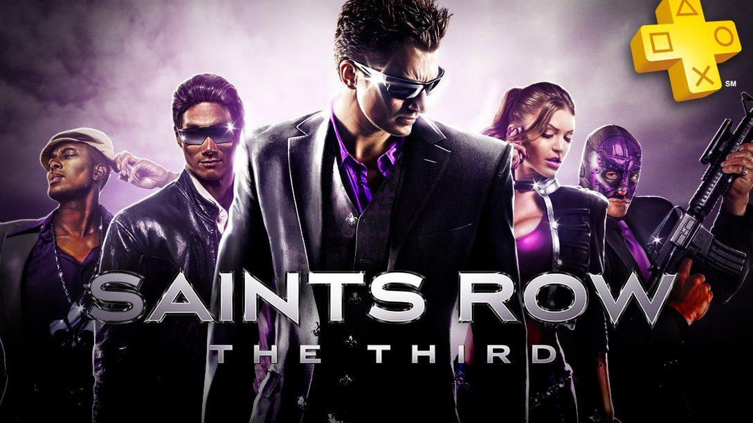 PlayStation Plus: Saints Row: The Third Free for Members