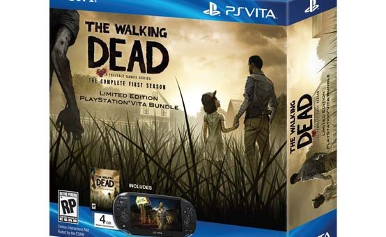New The Walking Dead DLC, Series Coming to PS Vita with Bundle