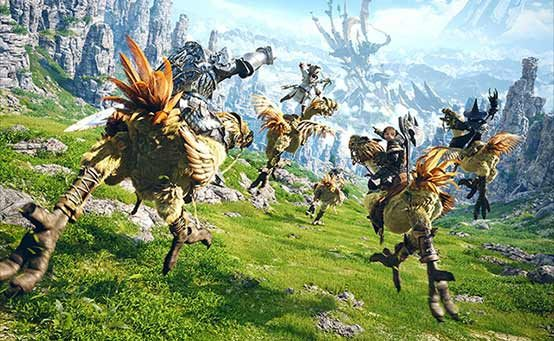 Final Fantasy XIV PS4 Coming April 14th, Collector's Edition