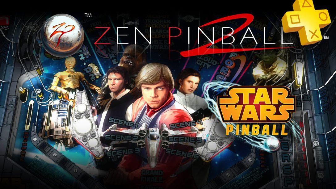 Star Wars Pinball Free on PS Plus This Week