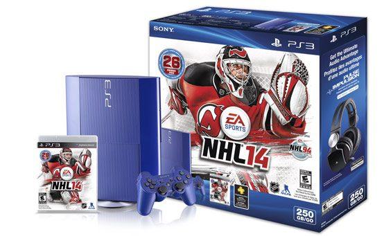Canada Gets Azure Blue PS3, NHL14 Bundle for $249