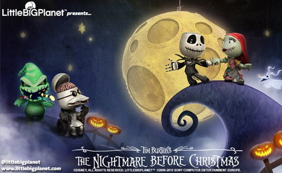 The Nightmare Before Christmas Comes to LittleBigPlanet