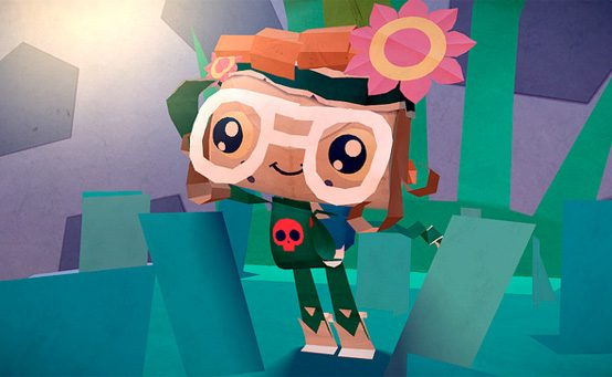 Tearaway's Papery Challenges and Character Customization