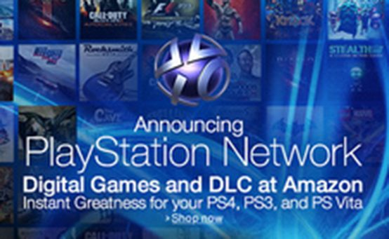 PSN Digital Content Now Available on Amazon.com