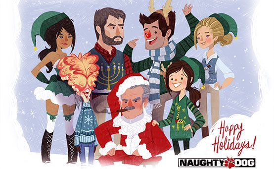 Holiday Greetings from Naughty Dog!