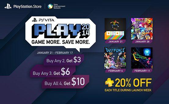 PS Vita PLAY: 4 New Vita Games, PS Plus discounts and more