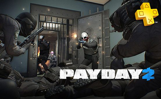 PlayStation Plus: Payday 2 Free for Members