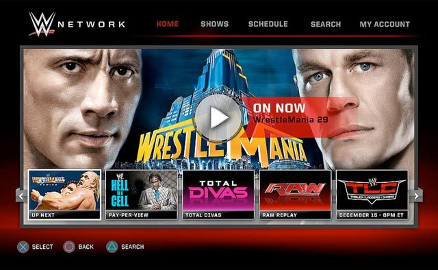 WWE Network App Hits PS4, PS3 Today