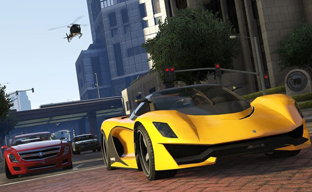 The Business Update for Grand Theft Auto Online Available Now
