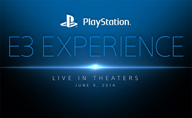 Watch the PlayStation E3 Press Conference in Movie Theaters Nationwide
