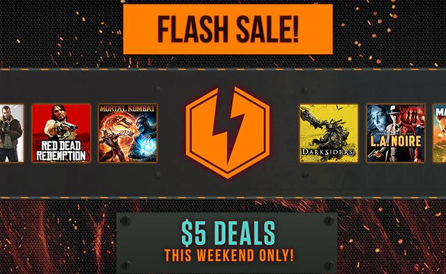 PS Store Flash Sale: $5 Games this Weekend